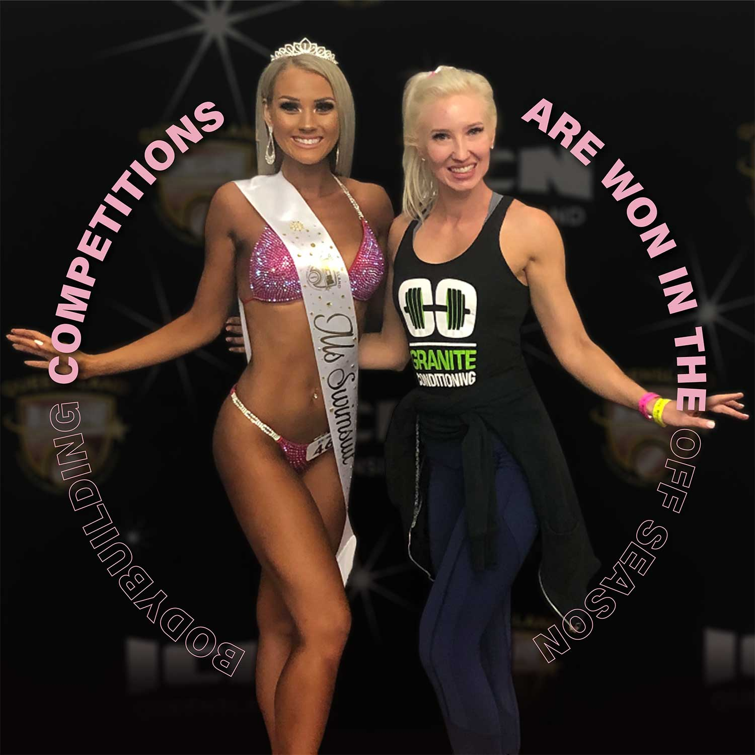 Personal trainer   Get fir with a professional personal trainer & a bikini model