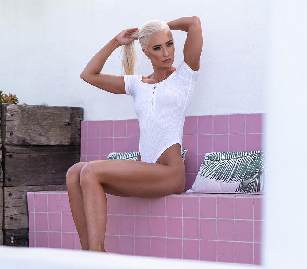 Becylu Logo   Personal Trainer & Bikini Model