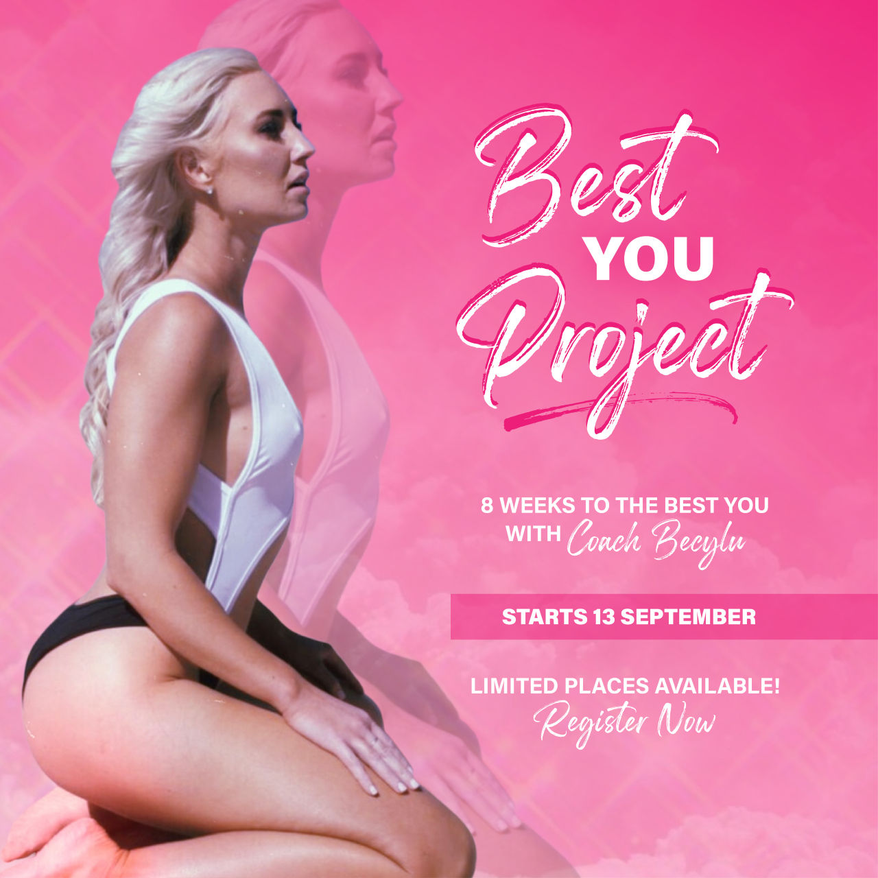 Personal trainer   Get fit with a professional personal trainer & a bikini model